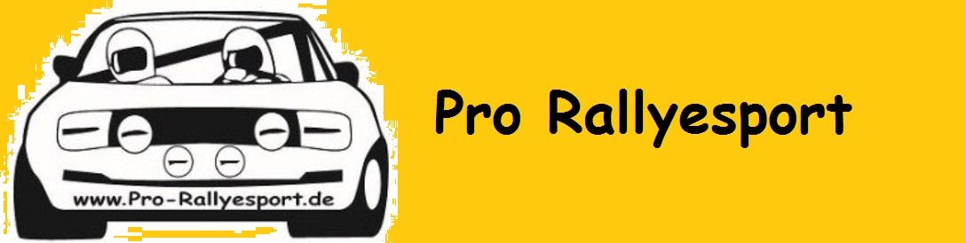 Pro Rallyesport-Logo